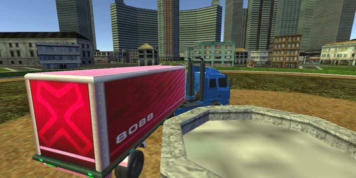 Truck Driving City screenshot 14