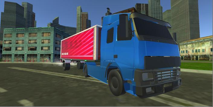 Truck Driving City screenshot 11