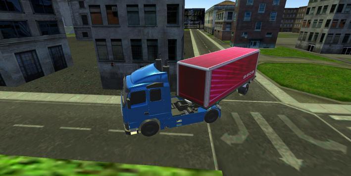 Truck Driving City screenshot 4