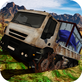 Truck with Shark Simulator 3D icon