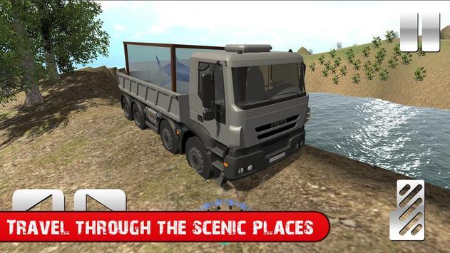Truck with Shark Simulator 3D screenshot 1