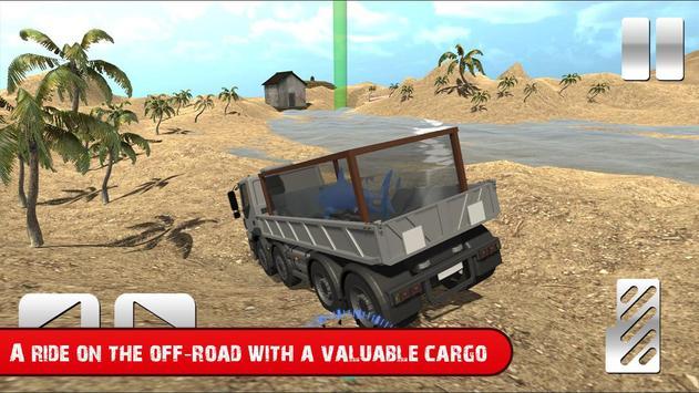 Truck with Shark Simulator 3D screenshot 3