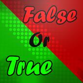 True Or False ? icon