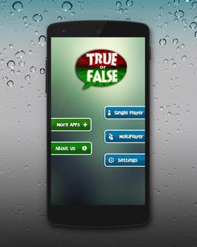 True Or False ? apk screenshot