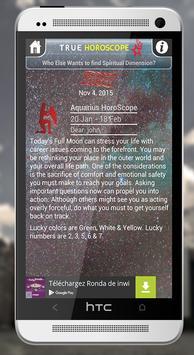 True Horoscope Free apk screenshot