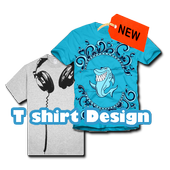 T shirt Design icon