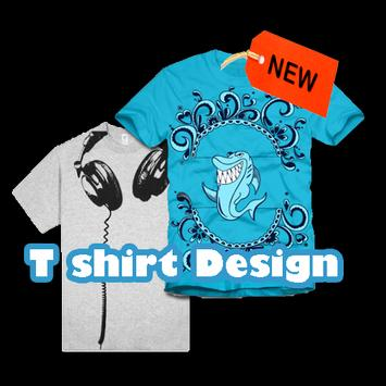 T shirt Design poster
