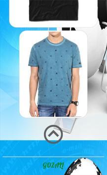 Men's T-Shirt Design screenshot 3