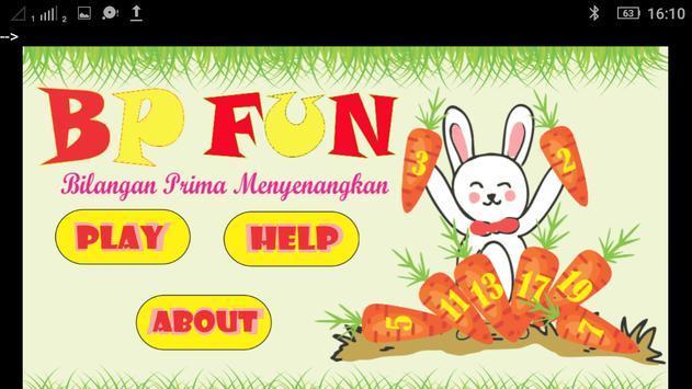 BP FUN (Bilangan Prima Menyenangkan) poster