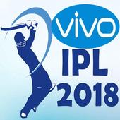 2018 Schedule of IPL icon