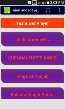 2018 Schedule of IPL apk screenshot