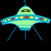 UFO landing icon