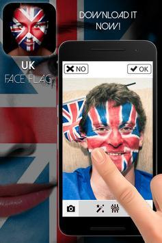 UK Face Flag-Face Masquerade apk screenshot