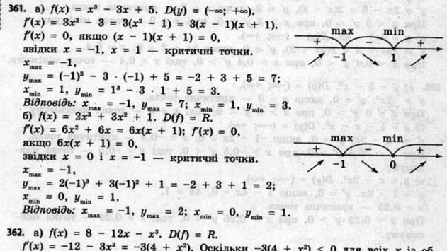 ГДЗ 11 Бевз Г.П. (математика) apk screenshot