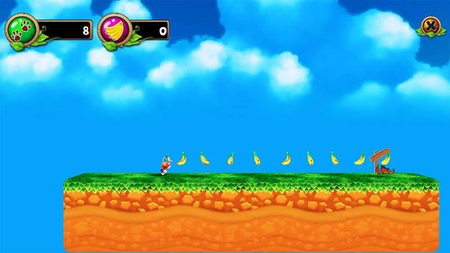 Super Monkey Run Endless dash apk screenshot