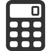 Calculator with Flash icon