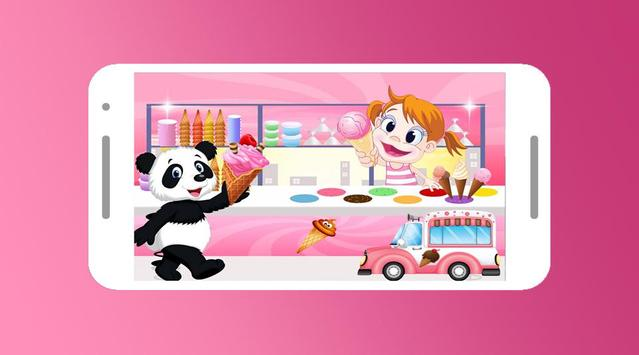 Panda And Ice Cream Truck screenshot 1