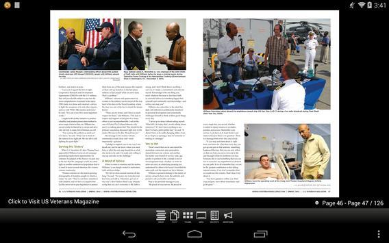 U.S. Veterans Magazine apk screenshot