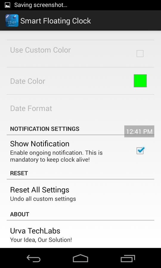 Smart Floating Clock for Android - APK Download
