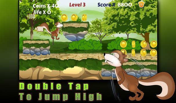 Squirrel run-Ultimate runner apk screenshot