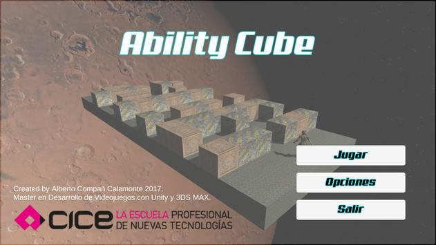 Ability Cube poster