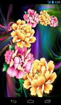 Flower Live Wallpaper Free poster