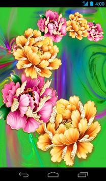 Flower Live Wallpaper Free apk screenshot