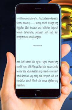 Ucapan Belasungkawa Islam Terbaru screenshot 2