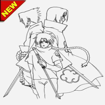 Sketch of uchicha anime screenshot 1