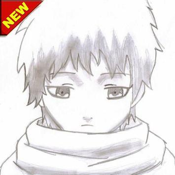 Sketch of uchicha anime screenshot 2