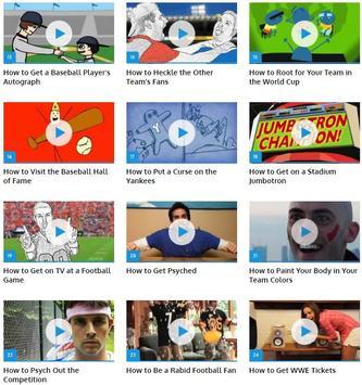 Be Ultimate Sports Fan screenshot 1