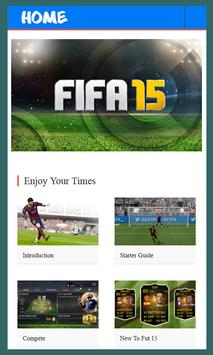 Guide For FIFA 15 Ultimate poster