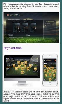 Guide For FIFA 15 Ultimate screenshot 1