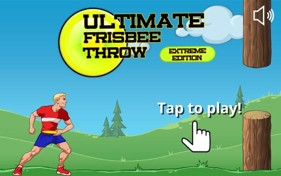 Ultimate Frisbee Throw poster