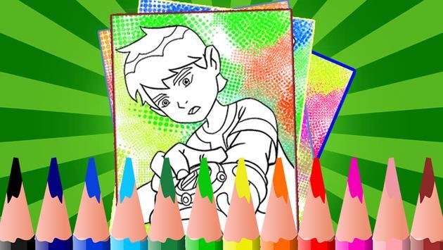 Coloring Ben 10 Ultimate Alien apk screenshot