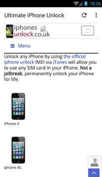 Ultimate iPhone Unlock screenshot 1