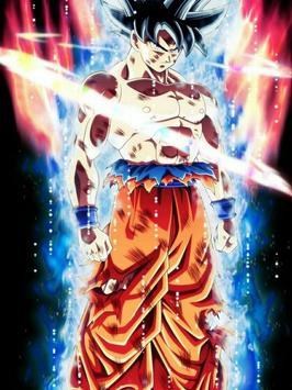 Ultra Instinct Goku Wallpaper Poster Screenshot 1