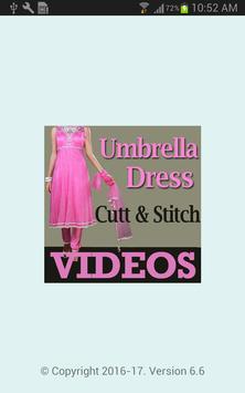 Umbrella Dress Cutting Designs poster