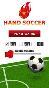 HAND SOCCER poster
