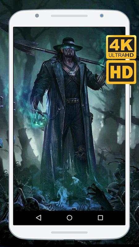 The Undertaker Wallpapers HD 4K Poster Screenshot 1