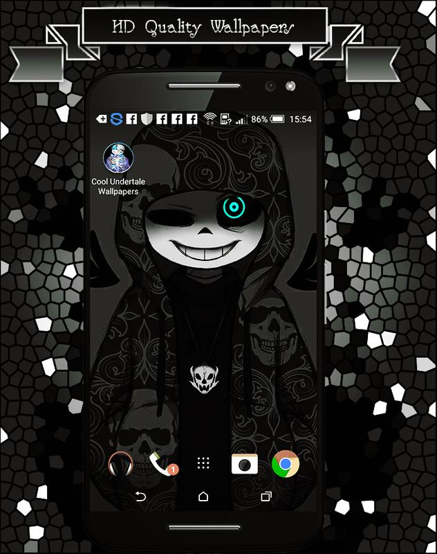 Cool Undertale Wallpapers Sans poster Cool Undertale Wallpapers Sans screenshot 1 ...
