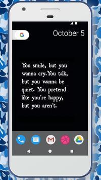 Unhappy Wallpapers screenshot 3