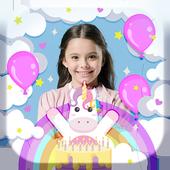 Unicorn Birthday Frames icon