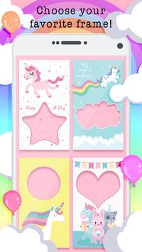 Unicorn Birthday Frames poster