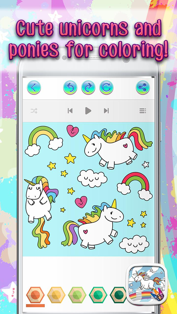 Unicorn Coloring Games for Android - APK Download