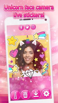 Unicorn Yourself - Pony Photo Stickers for Girls screenshot 7
