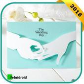 Unique Marriage Invitation Card icon