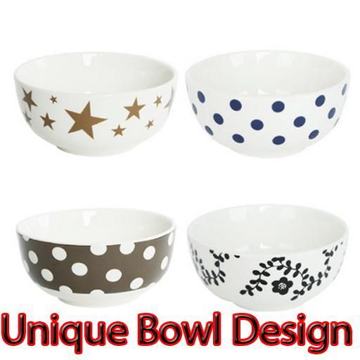 Unique Bowl Design poster