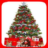 Unique Christmas Tree Design icon