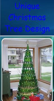 Unique Christmas Tree Design poster